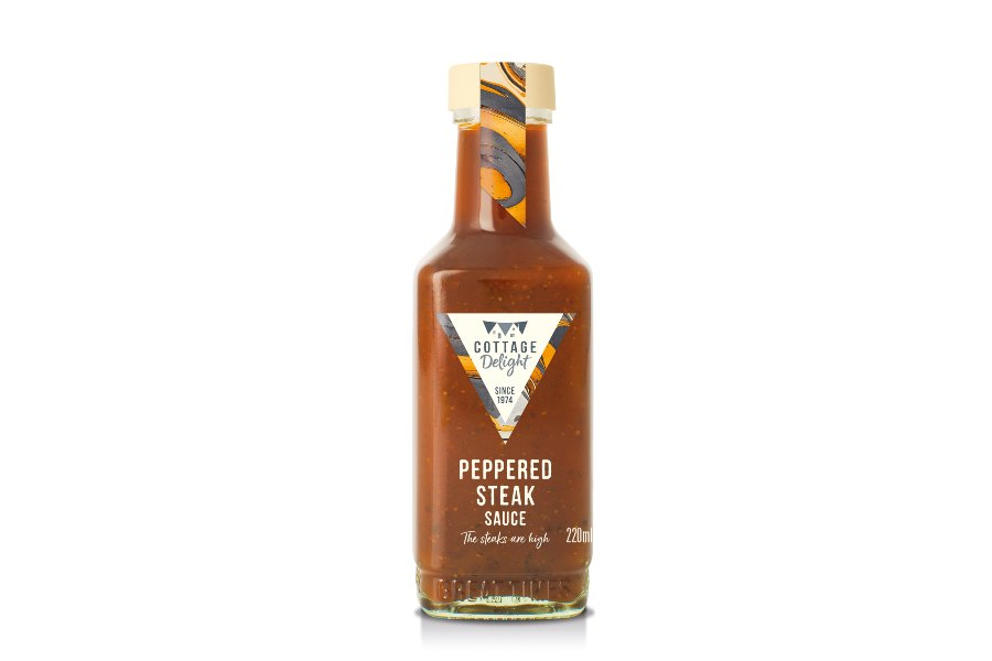 Peppered Steak Sauce 220 ml- Say Cheese